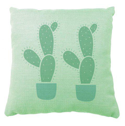 Best Cactus Party Decoration Pillow Case Sofa Bedroom Available Cusion Cover