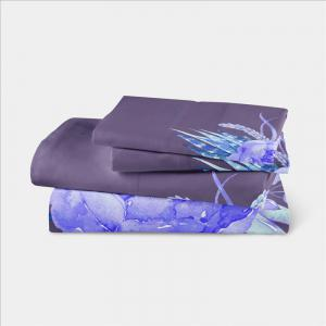3D Selling Painted Embroidery Petals Leaves Series Pillow Sofa Cushion Cover Lotus SK01 -
