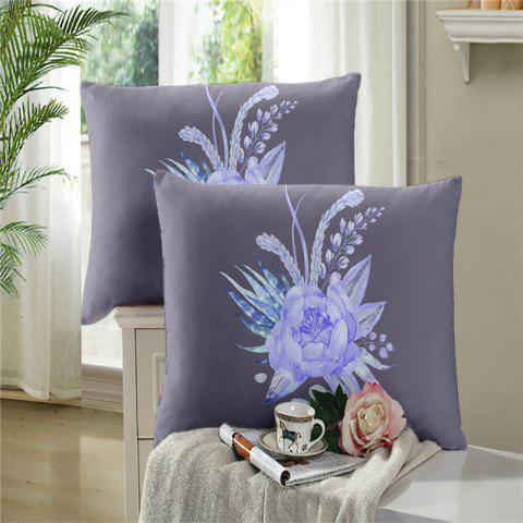 Chic 3D Selling Painted Embroidery Petals Leaves Series Pillow Sofa Cushion Cover Lotus SK01