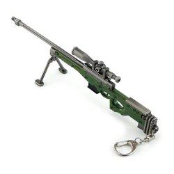 Hot Game High Quality AWM Sniper Rifle Model Key Chain -