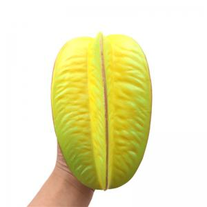 Jumbo Squishy PU Slow Rising Stress Rebound Pendant Toy Carambola for Adults -
