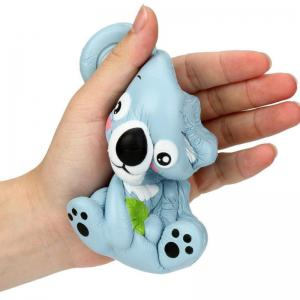 Jumbo Squishy PU Slow Rising Stress Rebound Toy Replica Cute Little Raccoon for Adults -