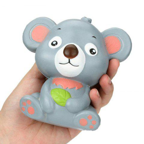Online Jumbo Squishy PU Slow Rising Stress Rebound Toy Replica Cute Little Raccoon for Adults
