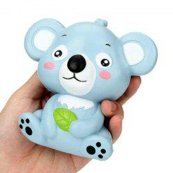 Jumbo Squishy PU Slow Rising Stress Rebound Toy Cute Little Raccoon for Adults -