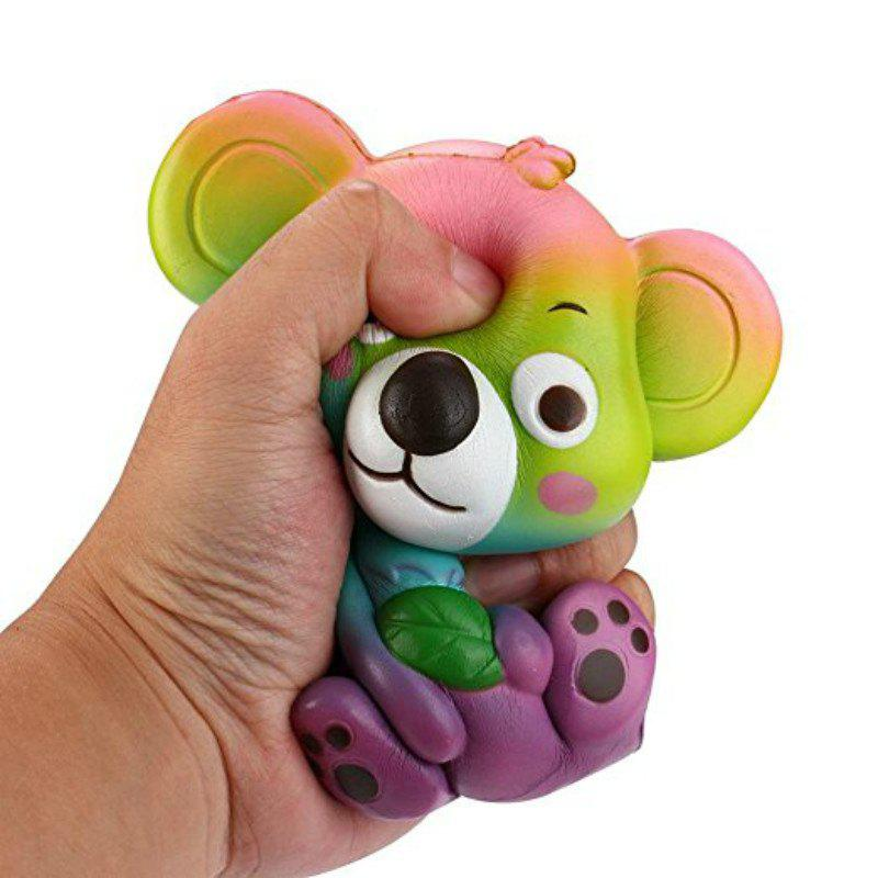 Hot Jumbo Squishy PU Slow Rising Stress Rebound Toy Cute Little Raccoon for Adults
