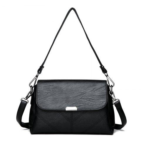 Outfit Middle-aged Female Casual Fashion Wild Cross-shoulder Messenger Bag
