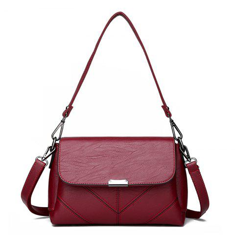 Fashion Middle-aged Female Casual Fashion Wild Cross-shoulder Messenger Bag