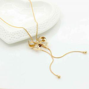 New Style Bow Pendentif avec collier de diamants -