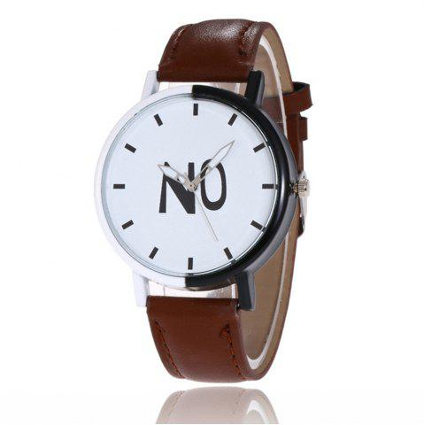 Best Fashion New Girl Boys Students Leather Watch