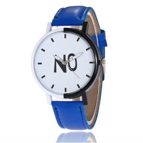 Hot Fashion New Girl Boys Students Leather Watch