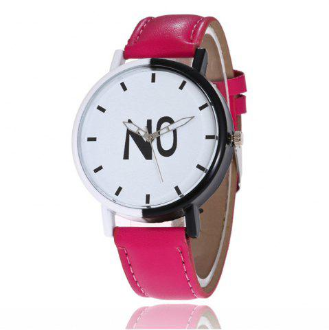 Affordable Fashion New Girl Boys Students Leather Watch