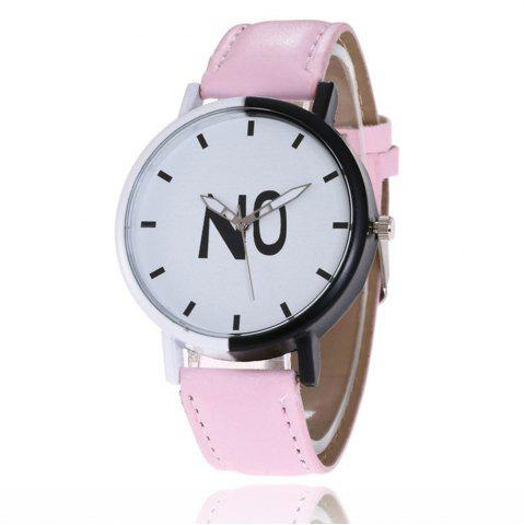 Cheap Fashion New Girl Boys Students Leather Watch