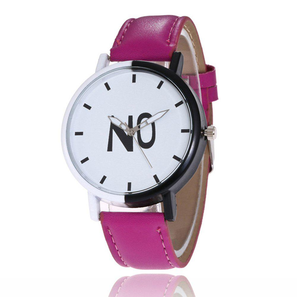 Trendy Fashion New Girl Boys Students Leather Watch