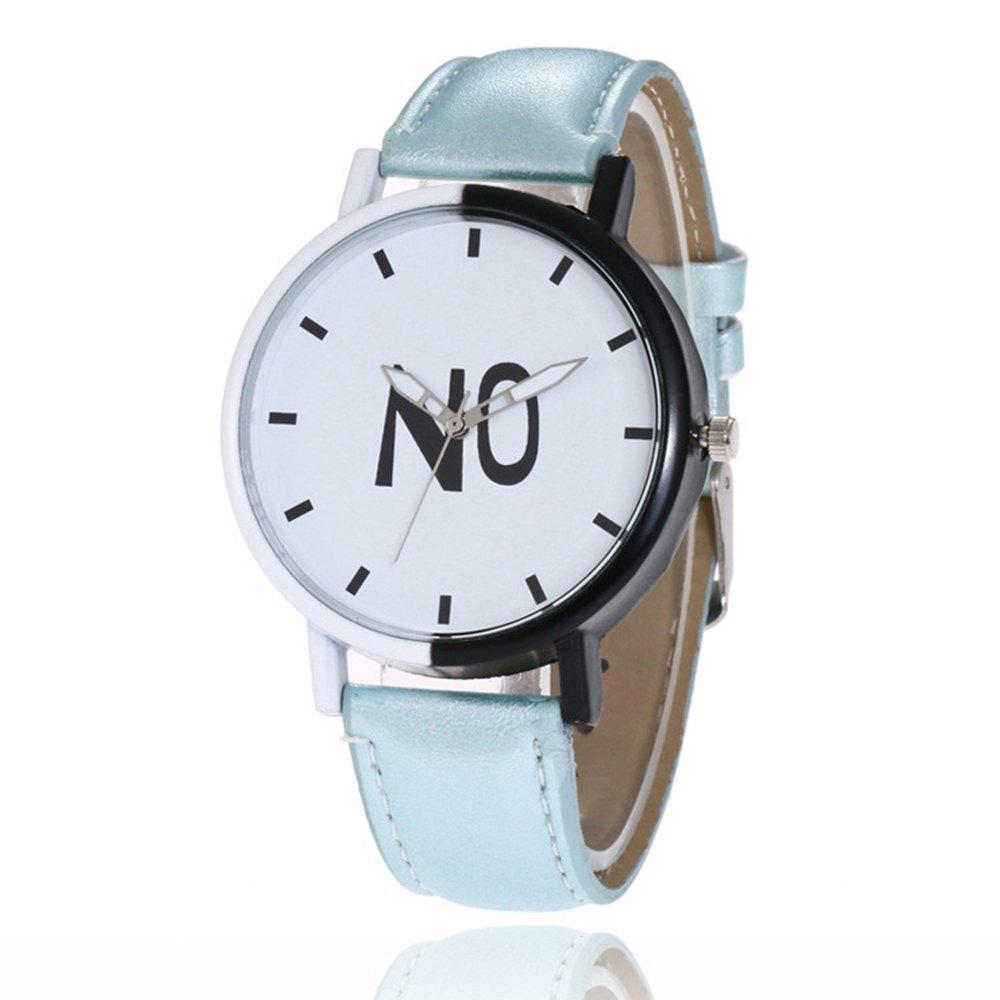 New Fashion New Girl Boys Students Leather Watch