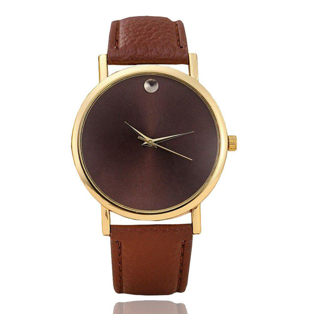 Sale Personality Fashion Men Leather Belt Watch