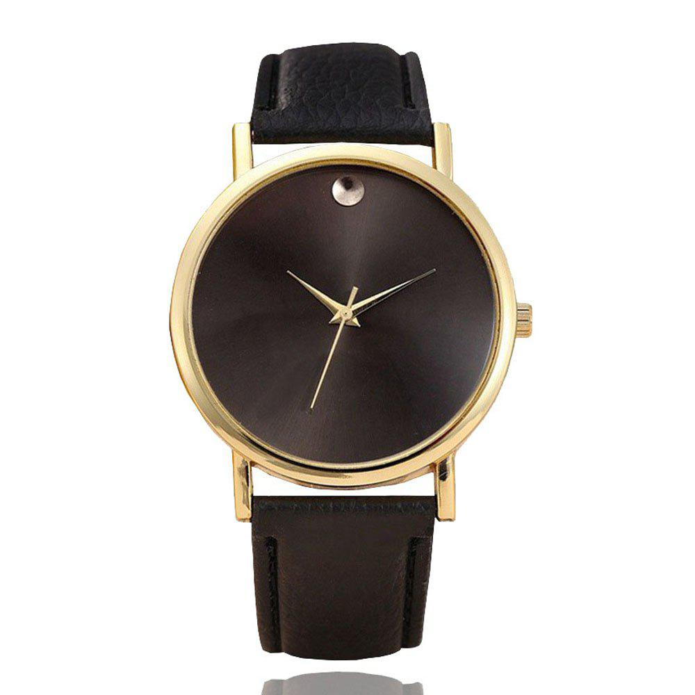 Buy Personality Fashion Men Leather Belt Watch