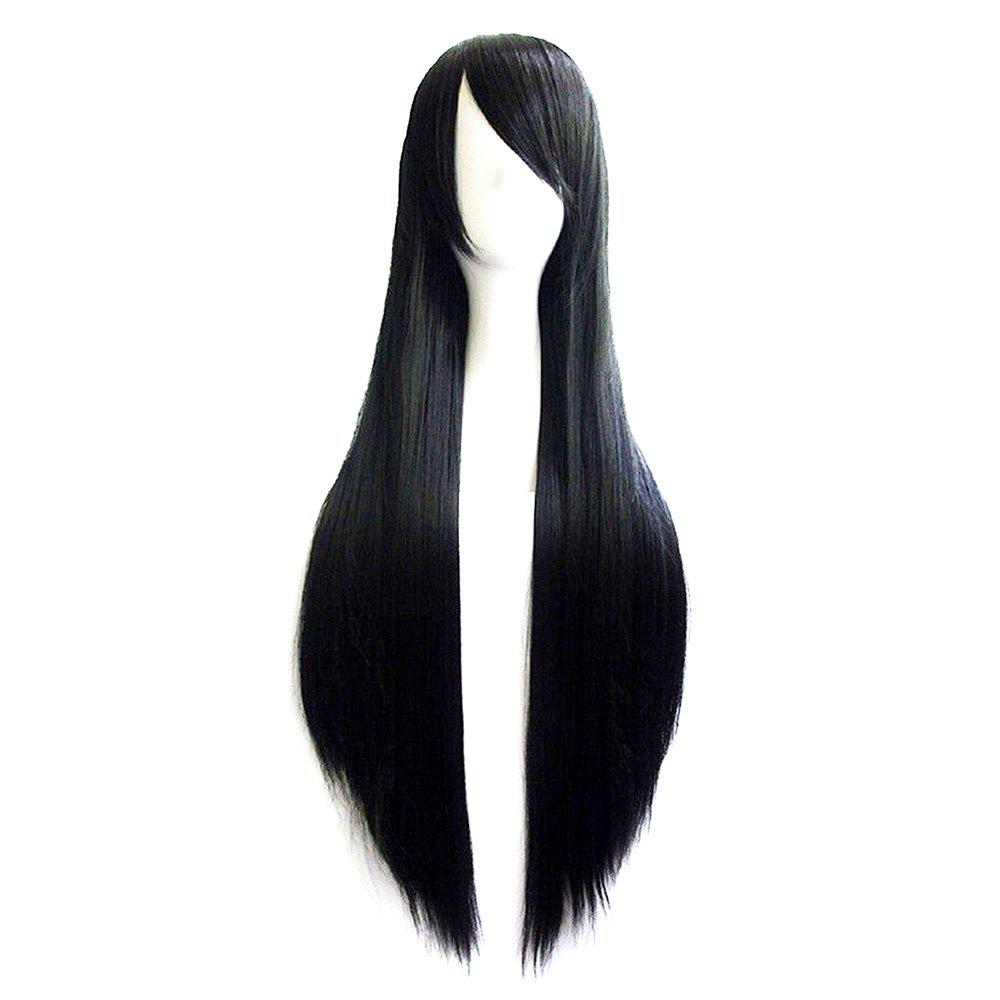 Chic Color Long Straight Hair Cosplay Wig