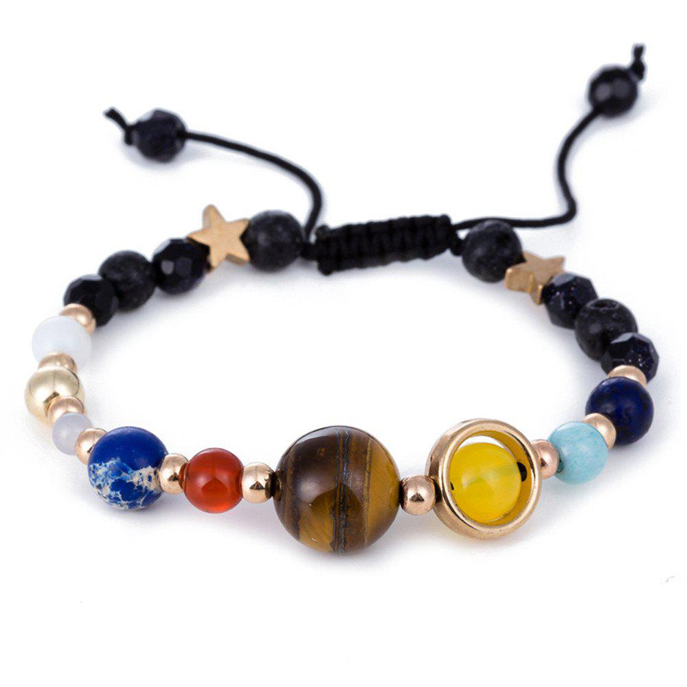 Unique River Solar System Eight Planets Bracelets