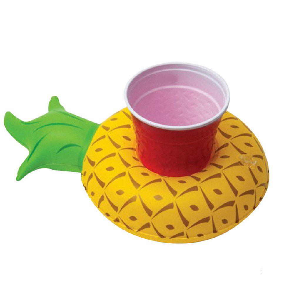 Fancy Mini Pineapple Cup Holder Drink Boat for Summer Pool Hawaii Party