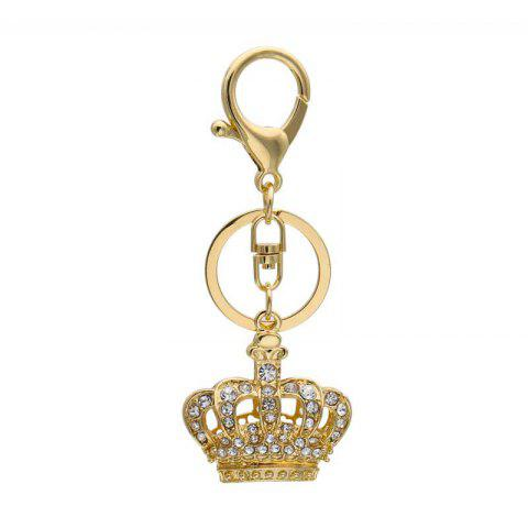 Креативная форма украшения короны Rhinestone Key Chain
