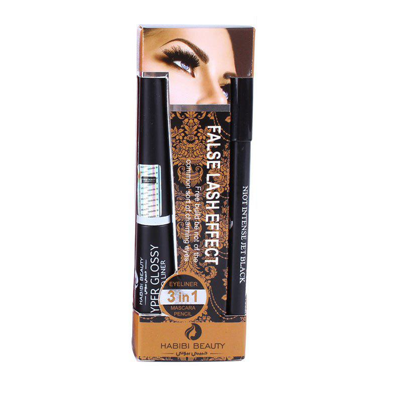 Chic Girls Beauty Makeup 3 in 1 Set Mascara and Liquid Eyeliner
