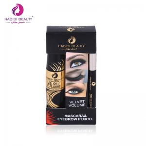 HABIBI BEAUTY 2 en 1 Mascara Maquillage Beauté et crayon à sourcils -