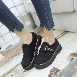 Flat Shoes with Round Head Casual Shoes -