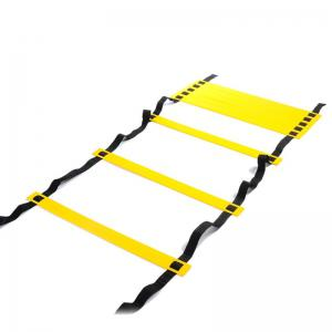 6 Meters 12 Block Foot Speed Agility Ladder for Football Training and Outdoor Fitness Equipment -