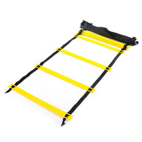Discount 6 Meters 12 Block Foot Speed Agility Ladder for Football Training and Outdoor Fitness Equipment