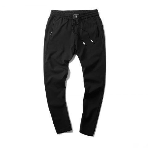Shop New Youth Leisure Speed Dry Pure Color Men's Trousers