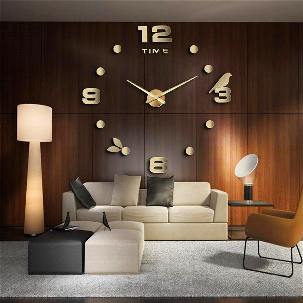 Unique Large Size Creative Silent Wall Clock