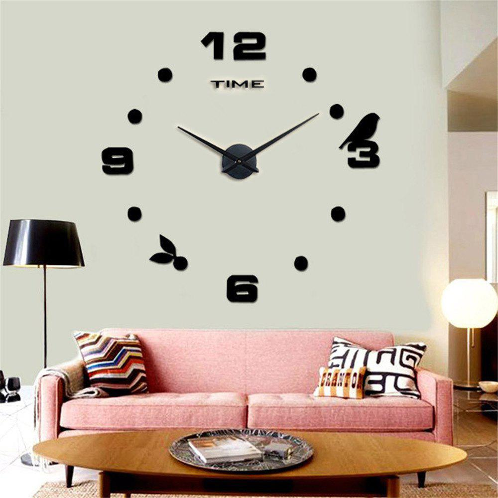 Trendy Large Size Creative Silent Wall Clock