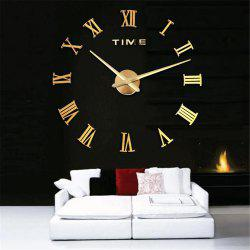 Simple Creative Fashion Wall Clock for Living Room -