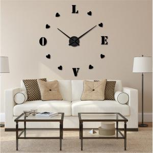 3D Creative Mute Wall Clock -