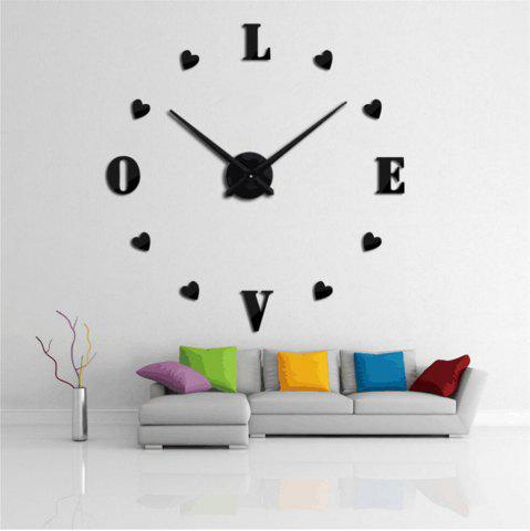 Buy 3D Creative Mute Wall Clock