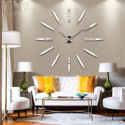 DIY  CreativeMute Wall Clock -