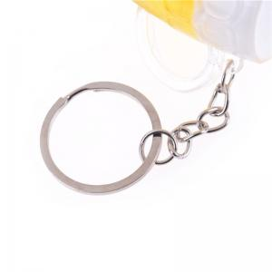 Beer Mug Shaped Metal Key Chain -