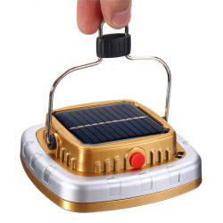 New Portable 3W 300LM COB LED Solar Lantern USB Rechargeable Camping Tent Light Emergency Lamp -