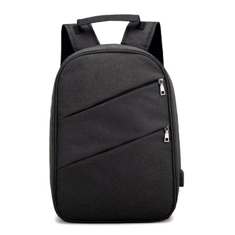 Outfit Nylon Men'S Backpack  Student Bag