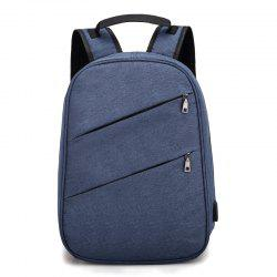 Nylon Men'S Backpack  Student Bag -