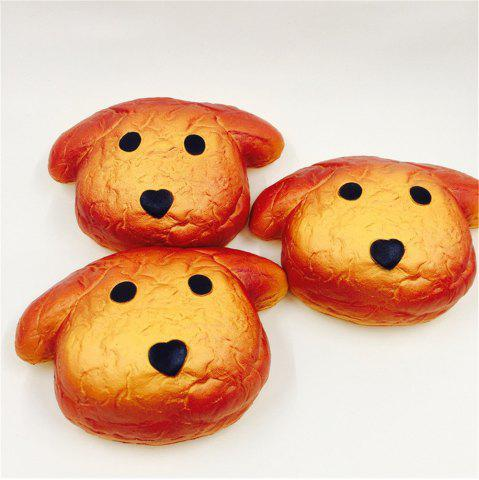 Outfit New Toy Jumbo Squishy Dog PU Slow Rebound Bread Model 1PC