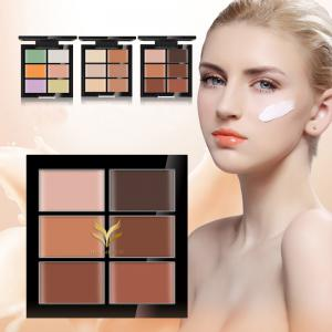 HUAMIANLI Natural Professional Foundation Base Face Cream Concealer Contour Palette -