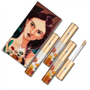 HUAMIANLI Liquid Face Base Brightening Skin Full Cover Concealer -