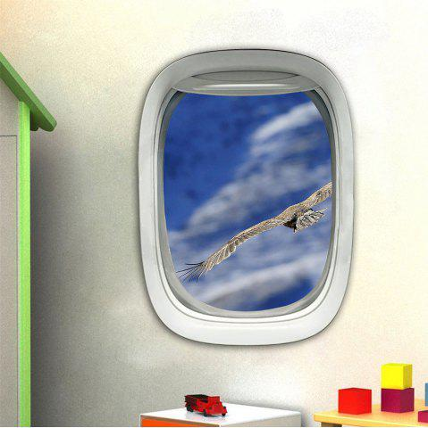 Best 3D Wall Sticker Sky Ground Building Beautiful Landscape Decoration XQ030015