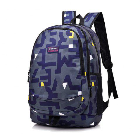 Store Shoulder Bag Middle School Schoolbag College Wind Computer Backpack Hit Color Pack