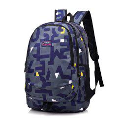 Shoulder Bag Middle School Schoolbag College Wind Computer Backpack Hit Color Pack -