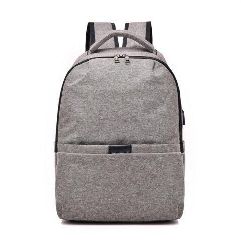 Affordable Multifunctional Shoulder USB Large Capacity Computer Student Bag