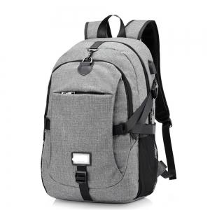 Anti-Theft Backpack Early Schoolbag External Charging Interface -