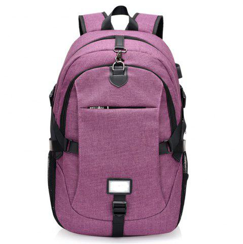 Online Anti-Theft Backpack Early Schoolbag External Charging Interface