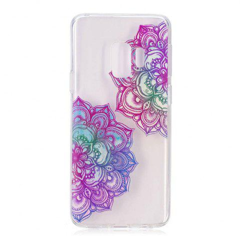 Outfit TPU Material Mandala Pattern Painted Phone Case for Samsung Galaxy S9